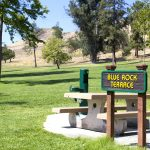 Blue Rock Terrace Area. Image of picnic tables.