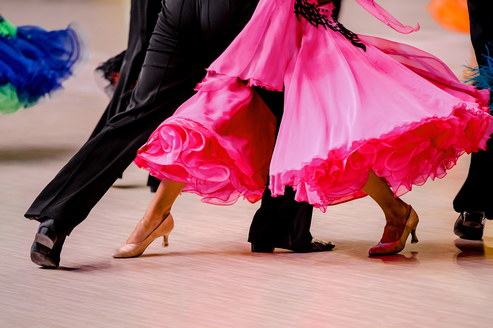 Dance Programs. Competitions in ballroom dancing